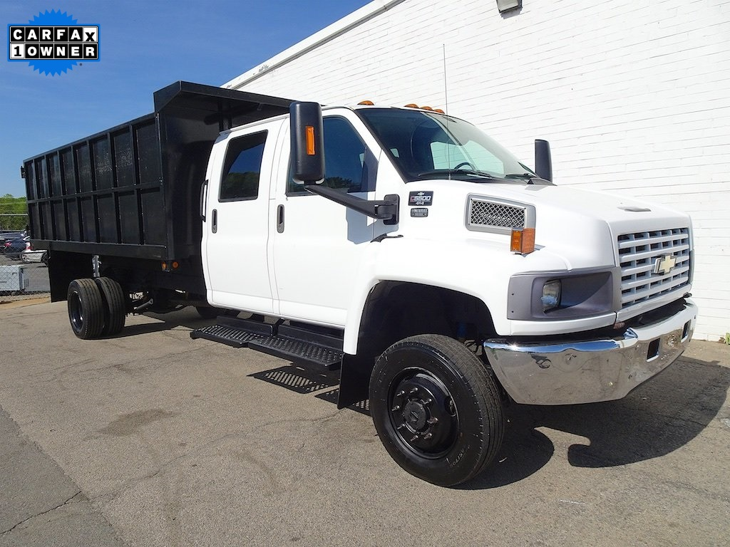 Chevrolet C5500 4x4 Dump Truck Crew Cab For Sale Smart Chevrolet