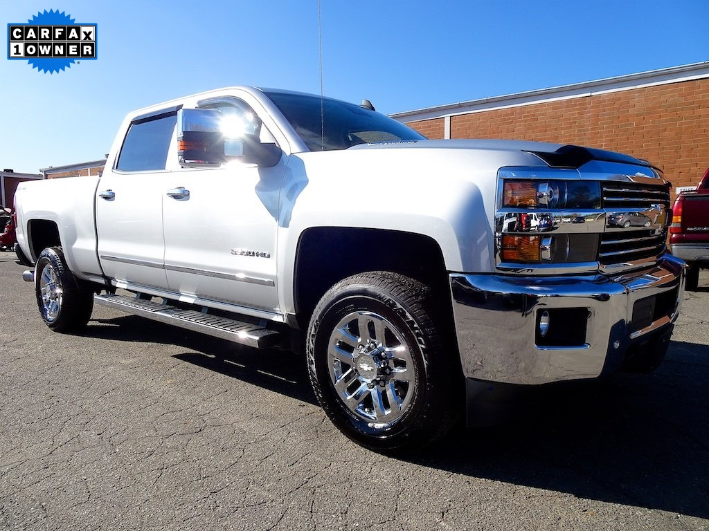 Certified Pre Owned 2016 Chevrolet Silverado 3500hd Ltz