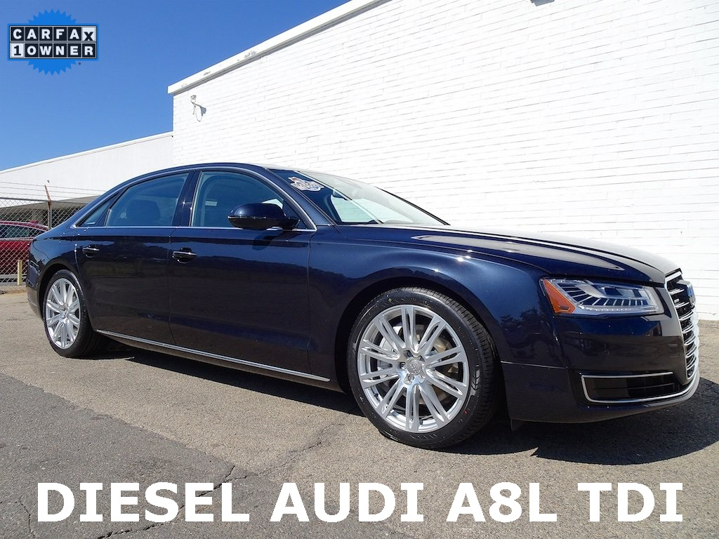 PreOwned Audi A L TDI D Sedan In Madison Smart - Audi a8l