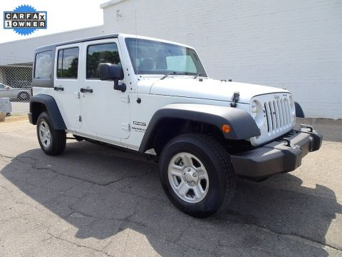 Pre-Owned 2016 Jeep Wrangler Unlimited Sport RHD